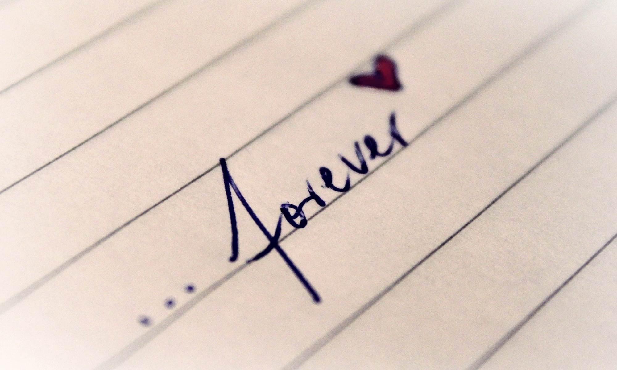 Das Schreiben über das Glück