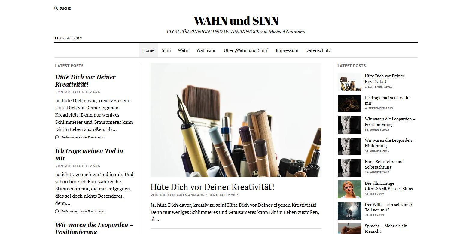 Dein eigener privater Blog