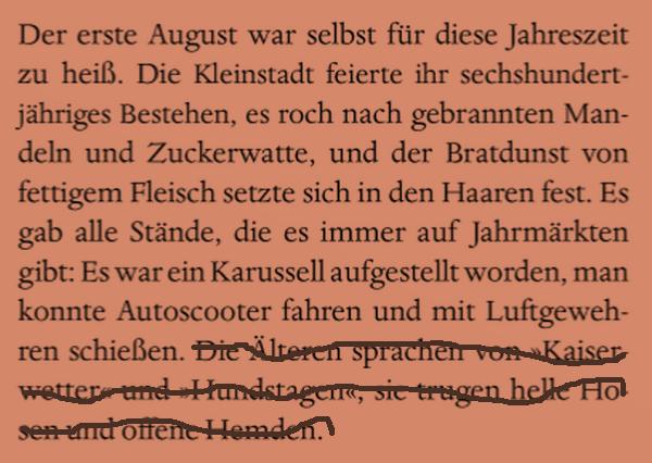 SCHREIBEN IN BERLIN: Der Anfang einer Geschichte
